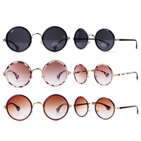 Free shipping women new arrival fashion brand High quality mixed color wholesale shop decorative  sunglasses ,C2809