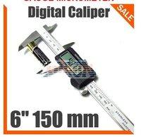 "150 mm 6"" Digital CALIPER VERNIER GAUGE MICROMETER EG108"