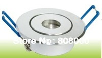 DHL free shipping 1w 3w 5w 7w AC85~265V Cool white and Warm white led downlight