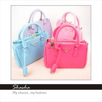 new 2014 Mission Impossible D brand leather handbag women messenger bags girls kids shoulder bag children purses bolsas AXB00014