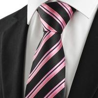 2014 hot sale adult women fashion microfiber neckties bowtie new striped business men tie necktie wedding party holiday gift 57