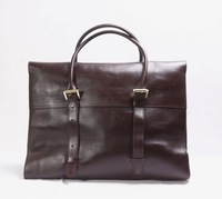 2014 classic men's Oversized Bayswater travel bag with Two adjustable handles and Internal straps to adjust compartment size