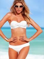 Free shipping new 2014 fashion swimwears women bikini set brand bikini bottom bikinis beach bathing push up piece swimsuit 3031