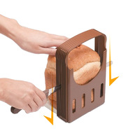 Free shipping Japan KOKUBO Toast bread slicer bread cutting toools