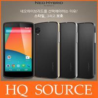 SPIGEN SGP Neo Hybrid Case for Google Nexus 5 luxury sgp brand nexus 5 phone case cover with silver button