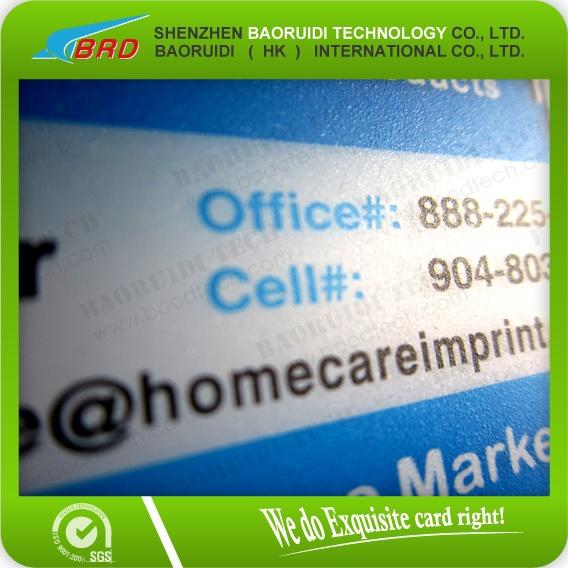 Пластмасса Elegant Printed Business Card/Membership Card/Printed PVC Gift Card