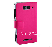 Genuine Leather Case Cover With TWO Card Holder For xiaomi 1S M1 MI1s ,Gift LCD Film Free Shipping