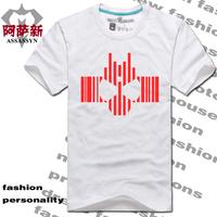 Super man t-shirt short-sleeve logo mask decade short-sleeve T-shirt dcd