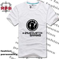 Short-sleeve T-shirt lol ig team jersey summer cotton short-sleeve T-shirt 100%