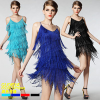 Sexy jazz dance clothes female modern dance costumes performance wear tassel costume