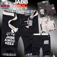 Casual pants mask jabbawockeez male slim trousers