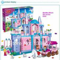 learning & education Banbao Princess series 8360 Castle 532pcs Building Block Set Girls Bricks Toy Lego compatible