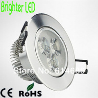 Wholesale 100PCS/Lot LED Downlights 3W Recessed Lamp AC220V Include Driver White/Warm White