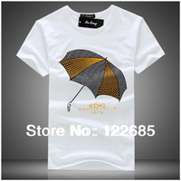 2014 new arrival famous brand men's t-shirt High quality cotton regular short-sleeved t-shirt cartoon images casual t-shirt