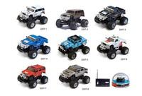 Mini remote control car toys Children mini hummer car toys cross-country remote control car model
