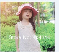 2014 New fashion children clothing summer aesthetic lace beads baby girl vest dress free shipping