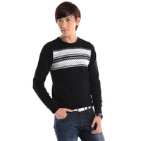 Free shipping Teenage sweater male preppy style boys school sweater autumn sports wear  2014 new