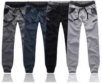 Free shipping 10pcs/lot 2014 New Men's Cool Harem Pants ,fashion printing, Casual mens Sports Pants Trousers ,4color, 4size,WP42