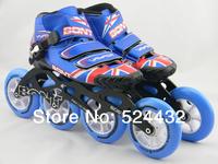 Australia UK flag BONT Vaypor Skating shoes roller shoes BONT Top Skating shoes blue