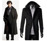 Detective Sherlock Holmes Cape Coat Overcoat Cosplay Costume Version Jacket Gift
