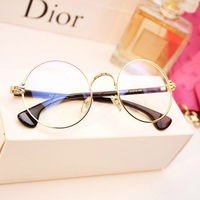 FASHION Cute Mens Women students cartoon Eye Glasses Frame No Lens Many Colors Free shipping