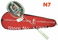 Original Lining N7 carbon badminton rackets li-ning racquet,Free shipping