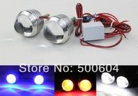 Multi-color 12V 10W Led Motorcycle fog light strobe flasher day running Headlights License number Rear lamp Blue/Red/Green/Pink