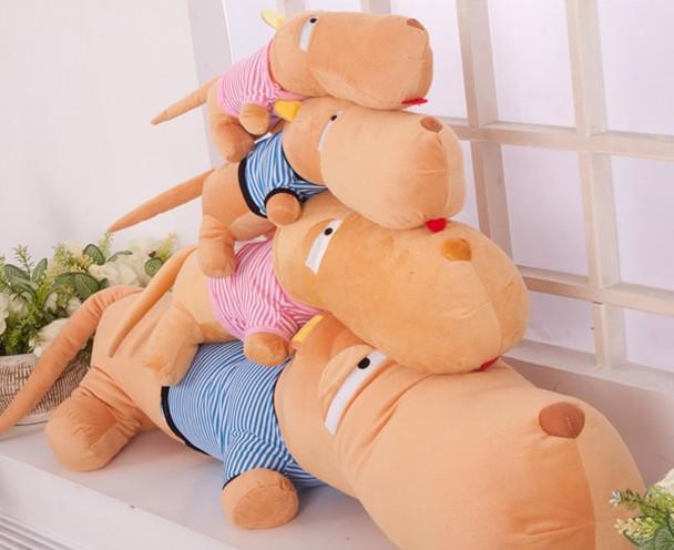 50cm plush dog Hot sales Pokemon plush Anime manufacturers Minion Plush toys doll Toys for children Stuffed animals 0282(China (Mainland))