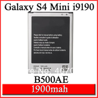 B500AE 1900mah Phone Battery Original Logo For Samsung Galaxy S4 IV Mini GT i9190 i9198 Batterie Bateria Batterij AKKU, 10 pcs