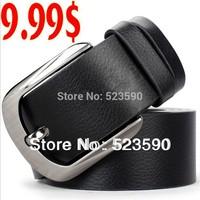Fashion Men Belt /Real Genuine Cow Skin Leather Strap/ Leather  Belt /Brand Belt /factory  -Wholesale Trade