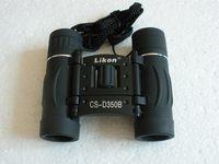 8x21 double straight small portable telescope