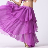 Belly dance skirt spiral belly dance skirt layered dress dance skirt