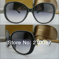 2014 Classic  box elegant quality sunglasses personalized glasses 55 - 30