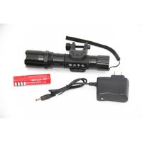 Mountain bike glare flashlight ride q5 mobile phone charge variofocus