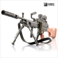 1/6 cross fire cf-m249 machine gun box Packaging with special display stand
