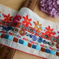 7cm quality clothes accessories embroidery lace diy laciness african swiss voile lace high quality lace fabric