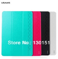 USAMS Brand Starry Series Folio Folding pu Leather Case for Samsung galaxy Note pro 12.2 inch, With retail box, 1pc Freeshipping