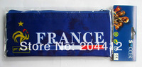 France Soccer Fans Souvenir Pen Holder Pencil Bag Blue