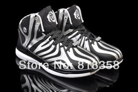 Fast shipping cheap discount 2014 D Rose 4.5 basketball shoes black/silver, Wholesale outdoor sports sneakers reliable supplier
