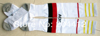 2013 / 2014 AC Milan FC Soccer Long Socks Adult Average Size High Quality White