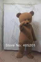 POLYFOAM high quality cartoon mascot costume brown teddy mascot costumes teddy bear costumes soft plush