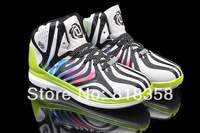 Fast shipping cheap discount 2014 D Rose 4.5 basketball shoes black/white/volt, Wholesale Messi outdoor sport sneakers for men