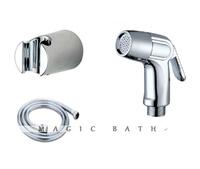 2014 limited bath tub faucet bidet sprayer supercharging handheld showerhead with hose & bracket-chrome nickel free shipping