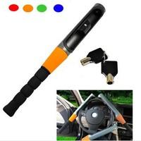 New Baseball Bat Style Anti-theft Defense Security Auto Car Steering Wheel Lock Derection Lock with 2 Keys