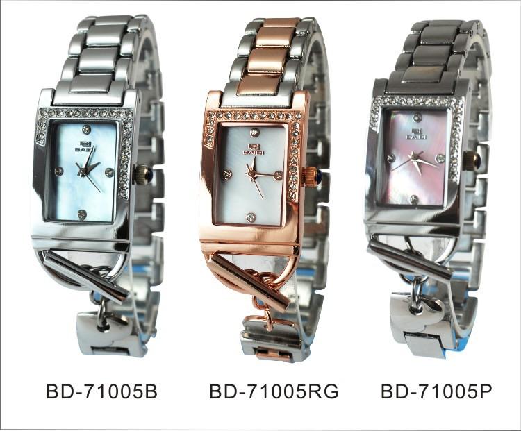 2014 Hot Sale Classic BBD-71005 Fashion Rhinestone Women Watch Hook Buckle Alloy Band Quartz Watch For Girls Ladies(China (Mainland))