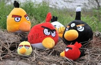 Free shipping!!!Plush Hanging Decoration,2013 new men, with Plastic, Bird, mixed, 90mm, 50PCs/Lot, Sold By Lot