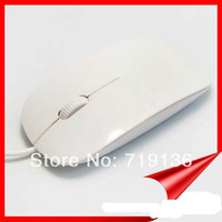Promotion Price Brand New USB Optical Ultrathin Mouse Wired Mice for apple free shipping SB001