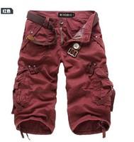 Free shipping British fashion men's casual short pants men bermuda shorts pirate shorts men short overalls