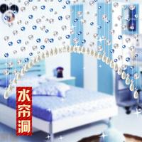 Crystal bead curtain curviplanar bundle bead curtain finished product curtain partition air curtain crystal curtain