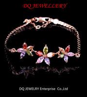 swiss Jewellery olour zircon lady's  bracelets